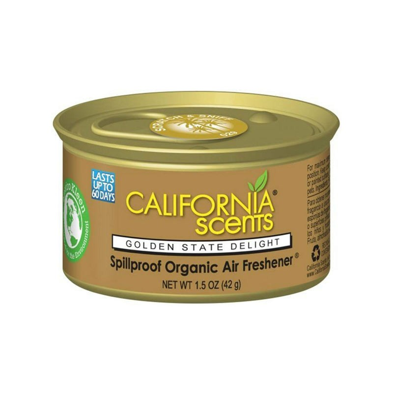 Aroma para carro Golden Delight State by California Scents